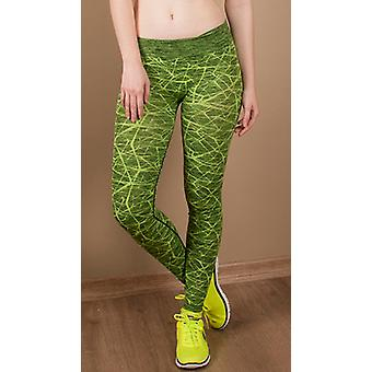 Jerf- Womens-ayon -neon Green - Active Leggings