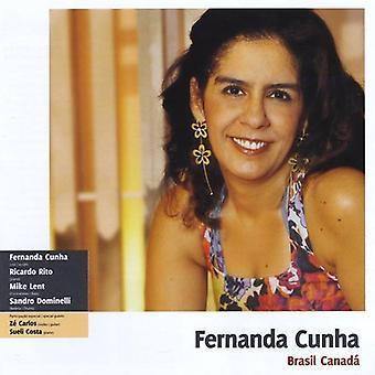 Fernanda Cunha - Brasil Canada [CD] USA import