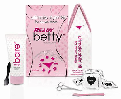 Klaar Betty ontharing en Styling Kit voor Down Below