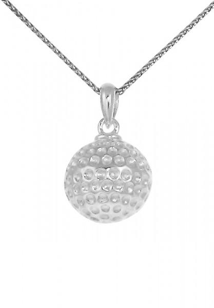 Cavendish French Round silver golf ball pendant