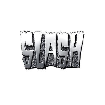 Slash Logo new Official Metal Pin badge