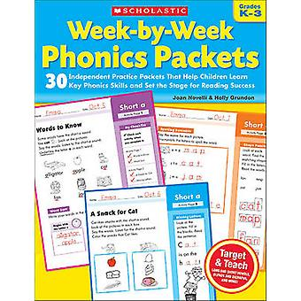Week-By-Week Phonics Packets - Grades K-3 by Joan Novelli - Holly Grun