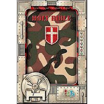 Compact Kids Bible - Green Camo by Thomas Nelson - 9781400310357 Book