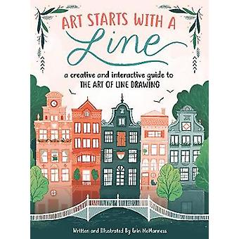 Art Starts with a Line - A creative and interactive guide to the art o