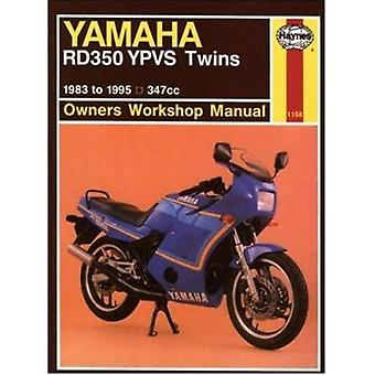 Yamaha RD350YPVS Twins 347cc 1983-91 Owners Workshop Manual (6th Revi