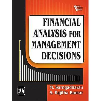 Financial Analysis for Management Decisions by M. Sarngadharan - 9788
