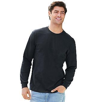Gildan Mens Hammer Seamless Cotton Long Sleeve T Shirt