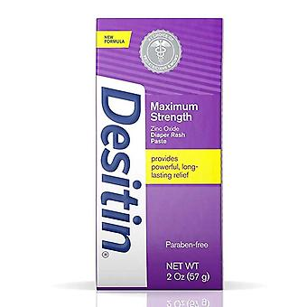 Desitin maximum strength diaper paste, original, 2 oz