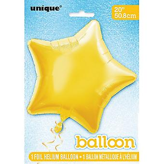 Unique Party 20 Inch Star Foil Balloon (Pack of 5)