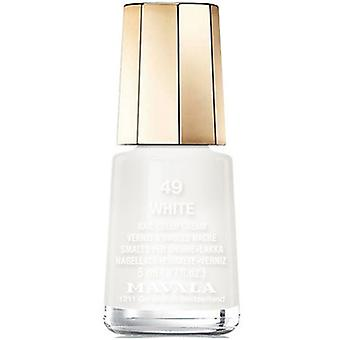Mavala Mini Nail Color Creme Nail Polish - White (49) 5ml