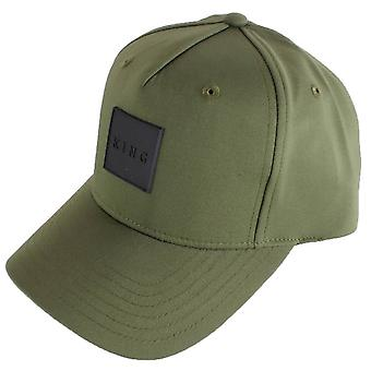 King Apparel Clapton buet peak cap-Fern grøn