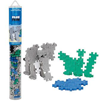Plus Plus Tube éléphant 100 Piece Construction Construction Set