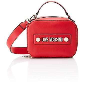 Love Moschino Bag Soft Grain Pu Hand Women (Red) 10x15x20 cm (W x H x L)