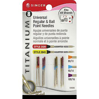 Universal & Ball Point Needles Size 80 11 2 , 90 14 4 & 100 16 2 4806