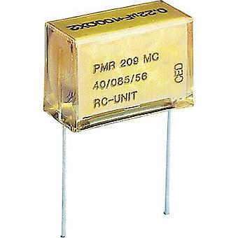 PMR suppression capacitor Radial lead 0.22 µF 250 Vac, 630 Vdc 2