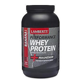 Lamberts Whey Protein-banana flavor (Sport , Protéines et hydrate)