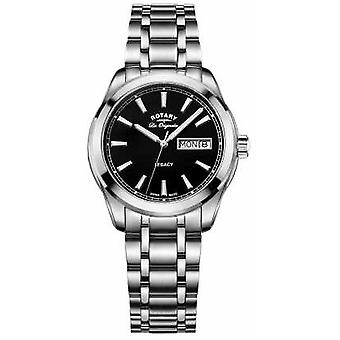 Rotary Mens Les Originales Legacy Stainless Steel GB90173/04 Watch