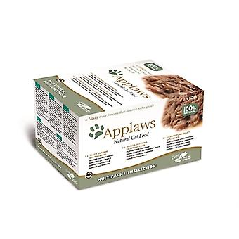 Applaws Cat Palmer Mp Fish Auswahl 8 x 60 Gr