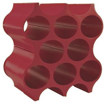 Koziol Red Stackable Wine Rack