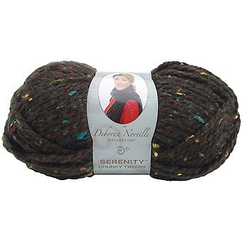 Deborah Norville Collection Serenity Chunky Tweed Yarn-Coffee Bean DN900-6