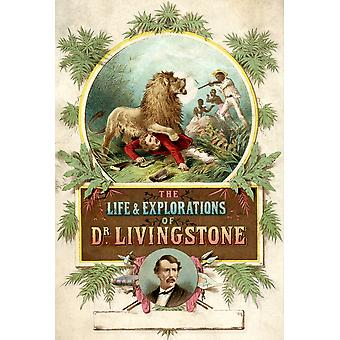 Frontispiece To The Life And Explorations Of Dr Livingstone Published C1875 PosterPrint