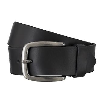 Bovino belts men's belts leather belt black 4837