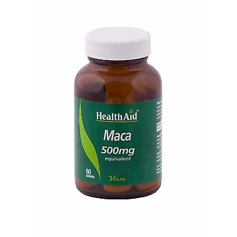 Health Aid Maca 500mg ,  60 Tablets