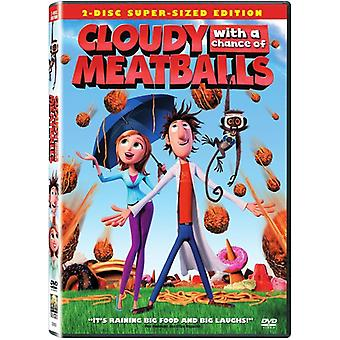 Cloudy with a Chance of Meatballs [DVD] USA import
