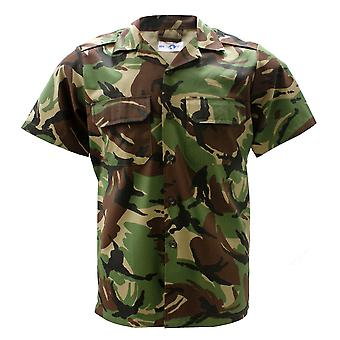 Military Army Combat Shirt Jacket Short Sleeve