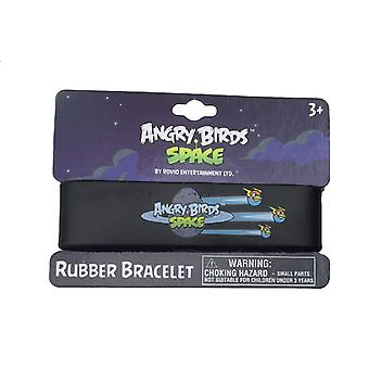 Officially Licensed | ANGRY BIRDS SPACE | Rubber Bracelet Wristband | 3 BIRDS | Ideal Party Bag Fillers