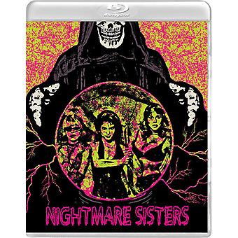 Mareridt søstre [Blu-ray] USA importerer