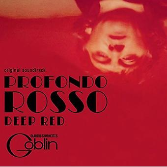 Claudio Simonetti Goblin - dyb rød / Profondo Rosso - O.S.T. [Vinyl] USA import