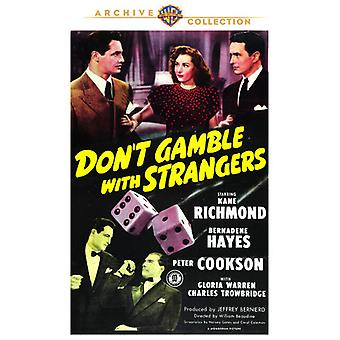 Don't Gamble with Strangers [DVD] USA import