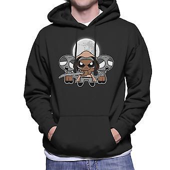Shuffle And Slice Michonne Walking Dead Men's Hooded Sweatshirt