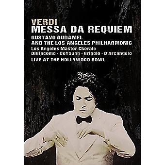 Verdi: Messa Da Requiem Live at the Hollywood Bowl [Blu-ray] USA import