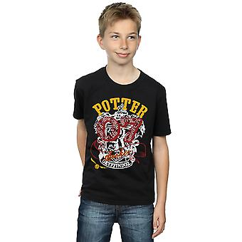 Harry Potter Boys Gryffindor Seeker T-Shirt