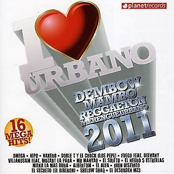 Importare il Dembow di amore - I Love Dembow [CD] USA