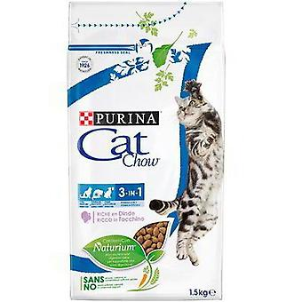 Cat Chow Feline 3 in 1 (Cats , Cat Food , Dry Food)