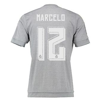 2015-16 Real Madrid Away Shirt (Marcelo 12) - Kids