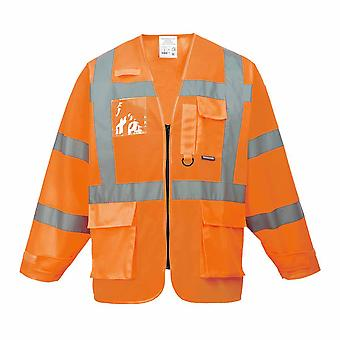 Portwest - Hi-Vis Safety Executive Workwear Jacket