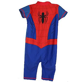 Spiderman 50+ UV Protection Children's Boys Swimming Suit