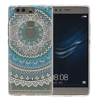 Henna cover for Huawei Nova 2 plus case protective cover silicone Sun blue