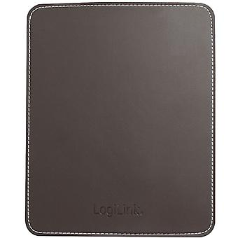 LogiLink Mouse Pad Leather Brown