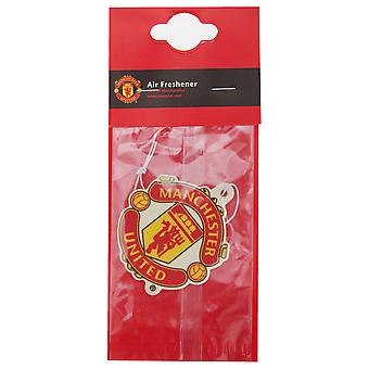 Manchester United FC Official Football Crest Car Air Freshener