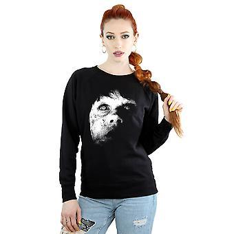 The Exorcist Women's Regan Demon Face Sweatshirt