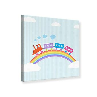 Canvas Print The Rainbow Train
