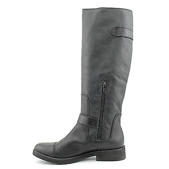 Lucky Brand Womens Fanni Leather Closed Toe Knee High Fashion Boots
