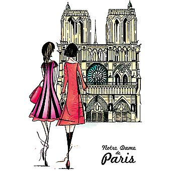 Carabelle Studio Cling Stamp A6 By Soizic-Notre Dame Of Paris SA60335