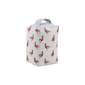 CGB Giftware Holly House Pheasant Doorstop