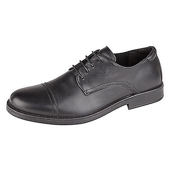 IMAC Mens 4 Eye Capped Gibson Shoes